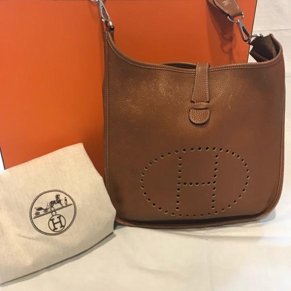a2b68f2af0a Hermes Bags | Herms Evelyne 3 Gm Wbox Dust Bag Receipt | Poshmark